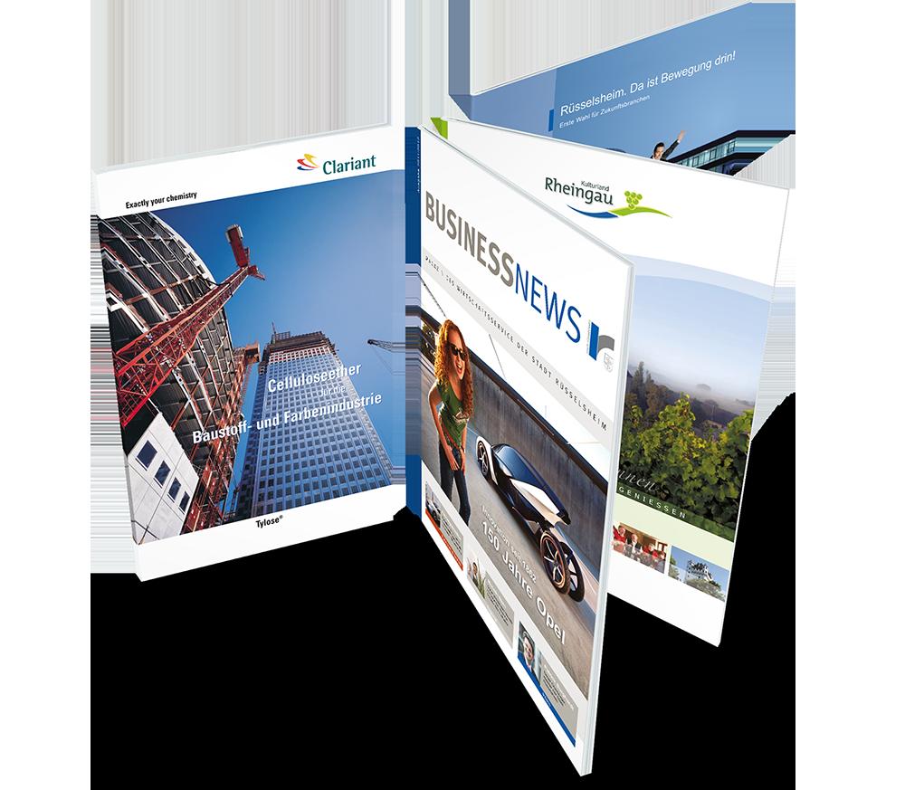 broschüre design agentur rödermark frankfurt darmstadt